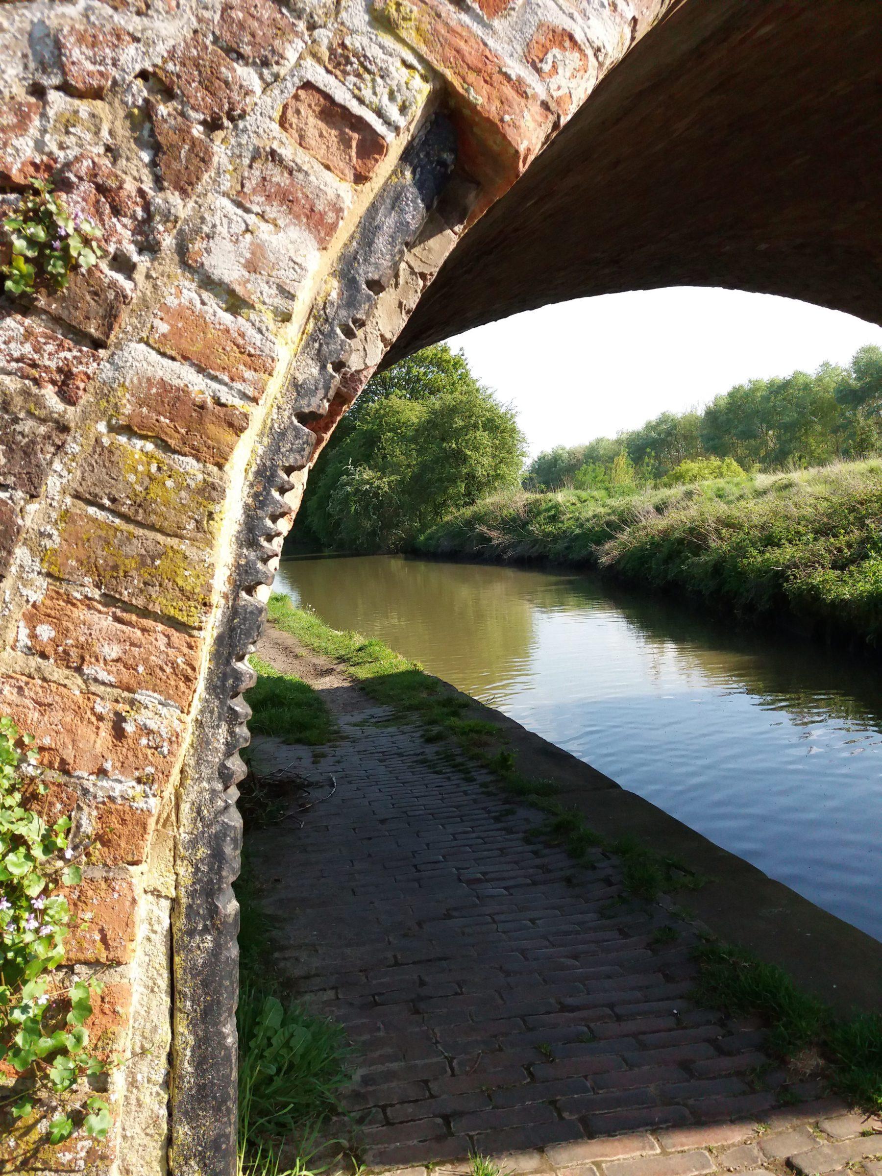 Rope Scored Bridge, Grand Union Canal, Whilton Locks Flight.