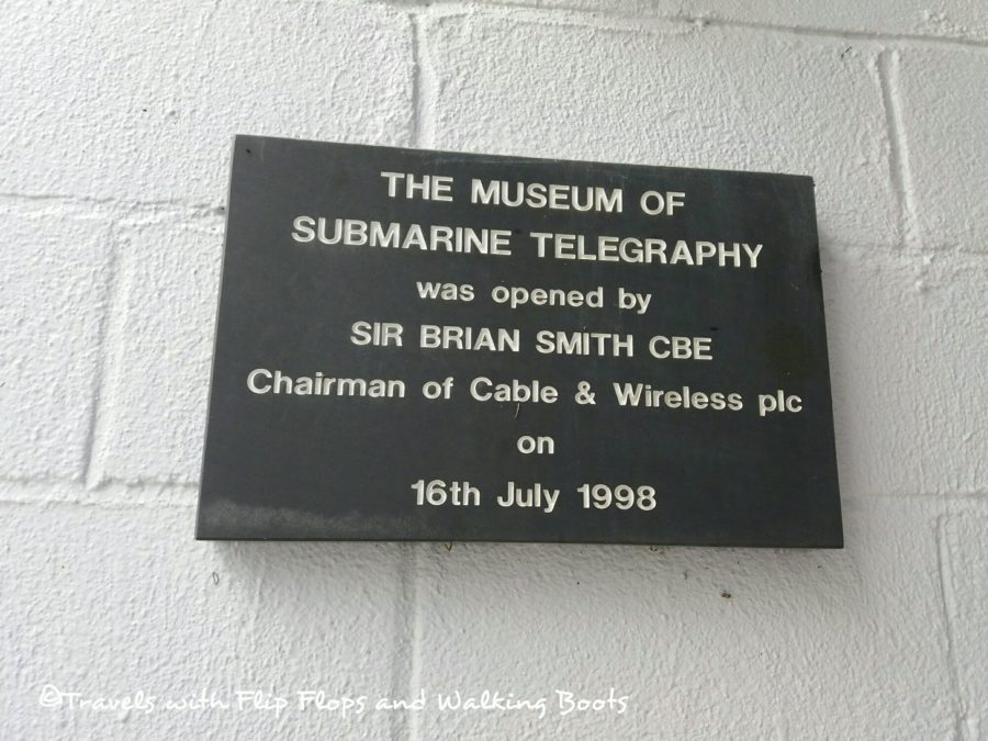Porthcurno Telegraph Museum Opening Ceremony Plaque 16th July 1998