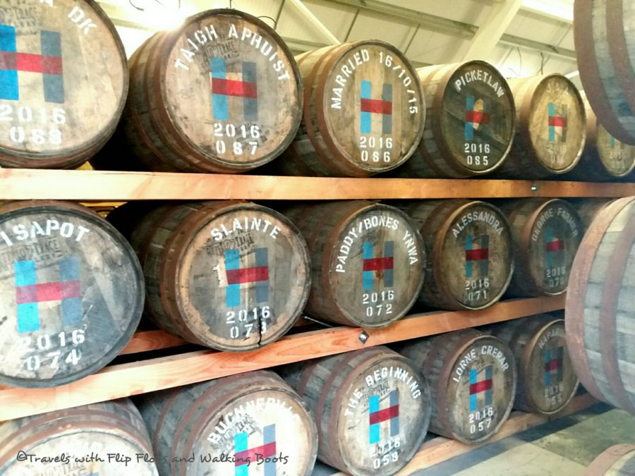 Harris Hearach Whisky. The first run of 2016. 200 maturing barrels bought by private individuals.